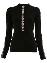 geometric trim knitted top Peter Pilotto