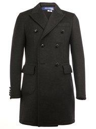 двубортное пальто с заостренными лацканами Junya Watanabe Comme Des Garçons Man