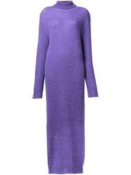 длинное платье-водолазка G.V.G.V.