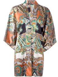 блузка с абстрактным узором Ermanno Gallamini