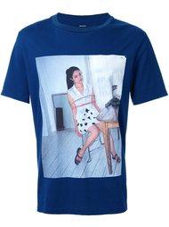 'girl' print T-shirt Christian Dada