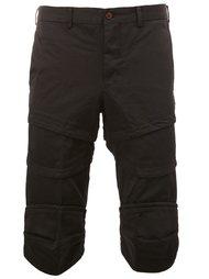 layered knee-length shorts Comme Des Garçons Homme Plus