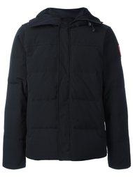 стеганая куртка-пуховик с капюшоном Canada Goose