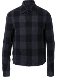 куртка-рубашка в клетку Rick Owens