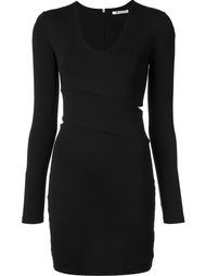 cut-out fitted dress T By Alexander Wang