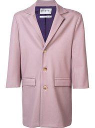 однобортное пальто Bristol