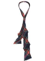 плиссированные галстук в клетку Homme Plissé Issey Miyake