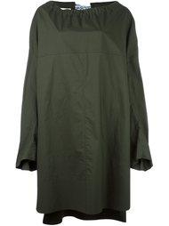 платье с воротником на шнурке Marni