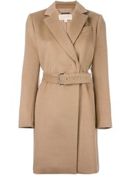короткое пальто с поясом Michael Michael Kors