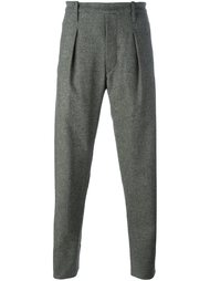 pleated tapered trousers Lemaire