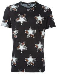 футболка с принтом звезд Just Cavalli