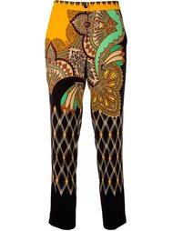 брюки с высокой талией Etro