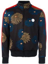 спортивная куртка с цветочным принтом MSGM