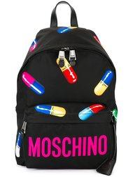 рюкзак с принтом капсул Moschino