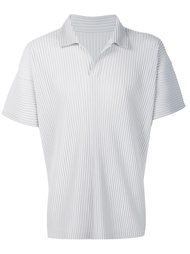плиссированная рубашка-поло Homme Plissé Issey Miyake