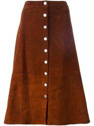 юбка на пуговицах спереди Diane Von Furstenberg