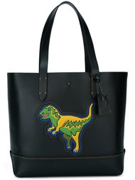 сумка-тоут с динозавром  Coach