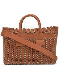 плетеная сумка Paco Rabanne
