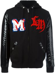куртка-бомбер с капюшоном Love Moschino