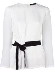 блузка с поясом Etro