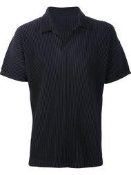 плиссированная футболка-поло Homme Plissé Issey Miyake