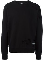 'Tisci' distressed sweatshirt Les (Art)Ists