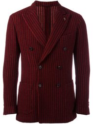 ribbed double breasted blazer Gabriele Pasini