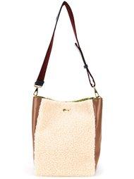 двухцветная сумка-тоут  Muveil