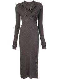 draped neck dress Rick Owens Lilies
