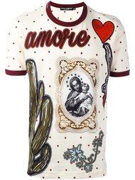 футболка 'Amore' Dolce & Gabbana