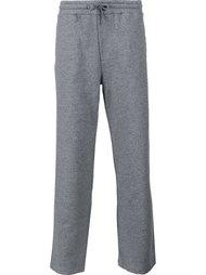 спортивные брюки прямого кроя Kenzo