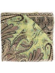 шелковый платок с узором Etro