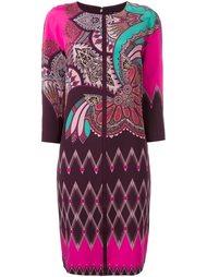 платье-шифт с принтом пейсли Etro
