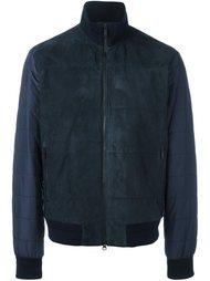 куртка с панельным дизайном  Z Zegna