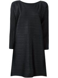 плиссированное расклешенное платье  Pleats Please By Issey Miyake