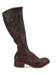 knee length boots Guidi