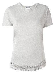 ruffle waist T-shirt Comme Des Garçons Comme Des Garçons