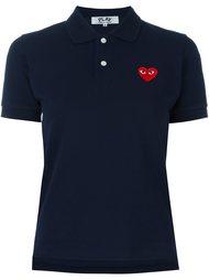 футболка-поло с логотипом Comme Des Garçons Play