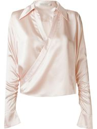 блузка с запахом Martha Medeiros