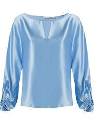 блузка со струящимися рукавами Martha Medeiros