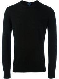 пуловер с круглым вырезом Armani Jeans