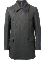 двубортное пальто Kazuyuki Kumagai