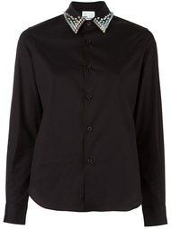 рубашка с заклепками на воротнике Comme Des Garçons Noir Kei Ninomiya