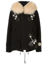 collar detail embroidered jacket Mr & Mrs Italy