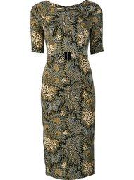 платье с декоративным вырезом Suno