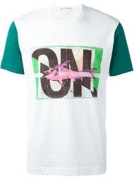 'on' print T-shirt Comme Des Garçons Shirt