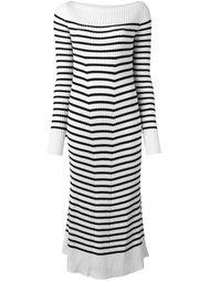 платье миди в полоску Erika Cavallini
