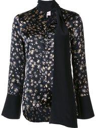 блузка с цветочным рисунком Cinq A Sept