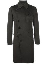 пальто на смещенной застежке Giorgio Armani