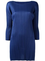 pleated long fit blouse Pleats Please By Issey Miyake